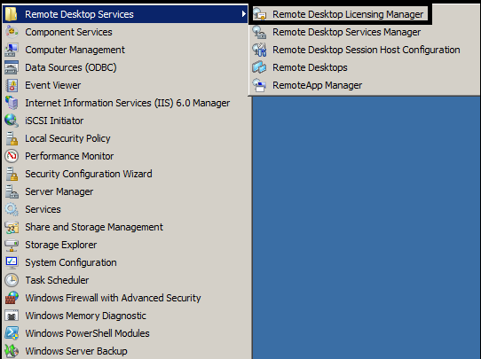 Installing Remote Desktop License Server on Server 2008 R2