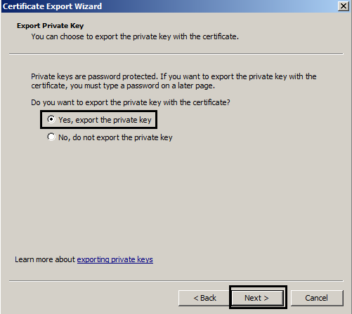 Enabling LDAPS with certificate from a 3rd party CA