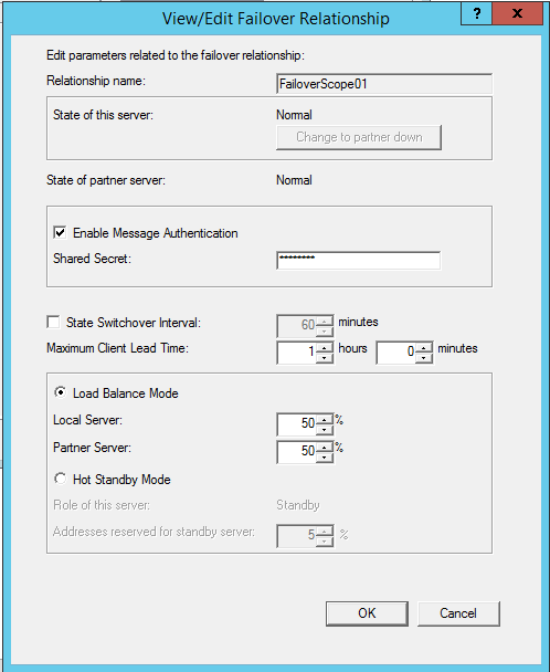 Implementing DHCP Failover in Windows Server 2012 R2