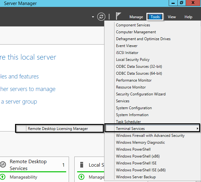 Installing Remote Desktop License Server on Windows Server
