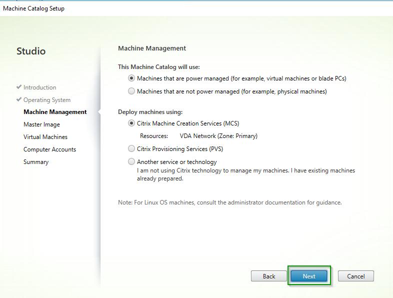 xendesktop 5.5 vda