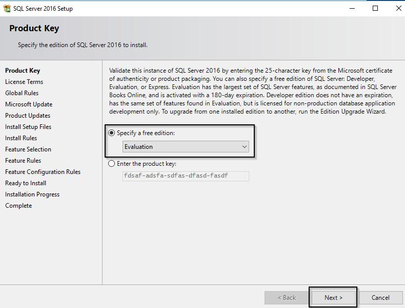 Installing SQL Server 2016 - ShabazTech