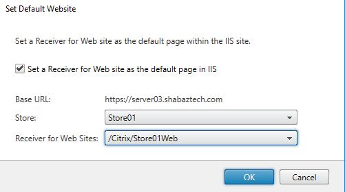 Installing Citrix StoreFront 3 12 - ShabazTech