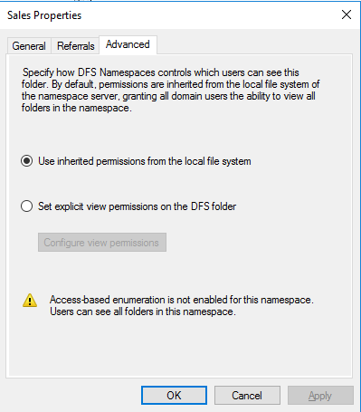 Installing and Configuring DFS-N on Windows Server 2016 - ShabazTech